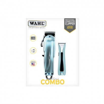 WAHL PRO Limited Edition Cordless Combo Clipper & Trimmer #8592