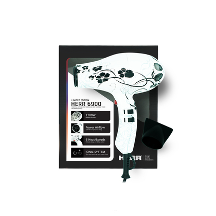 HERR 6900 2100W Professional Ionic Hair Dryer (LIMITED EDITION)